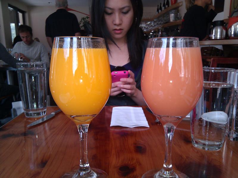 Chouquet's - Freshly Squeezed Grapefruit and Orange Juice
