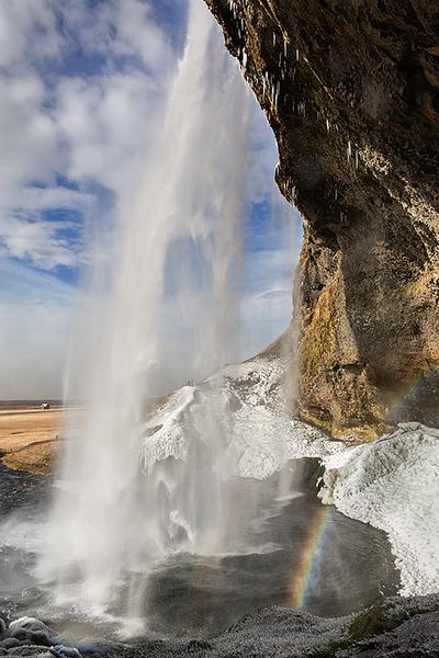 Sejalandsfoss Waterfall