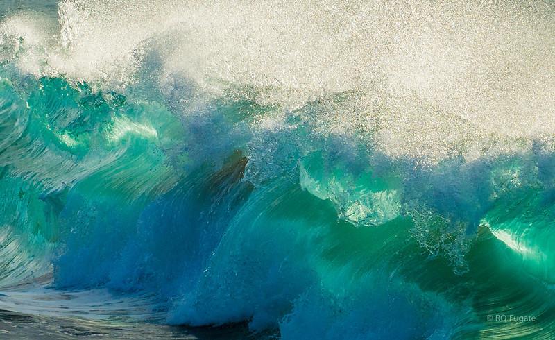 Waves at Kepuhi Beach