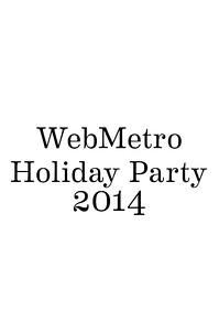 WebMetro Holiday Party
