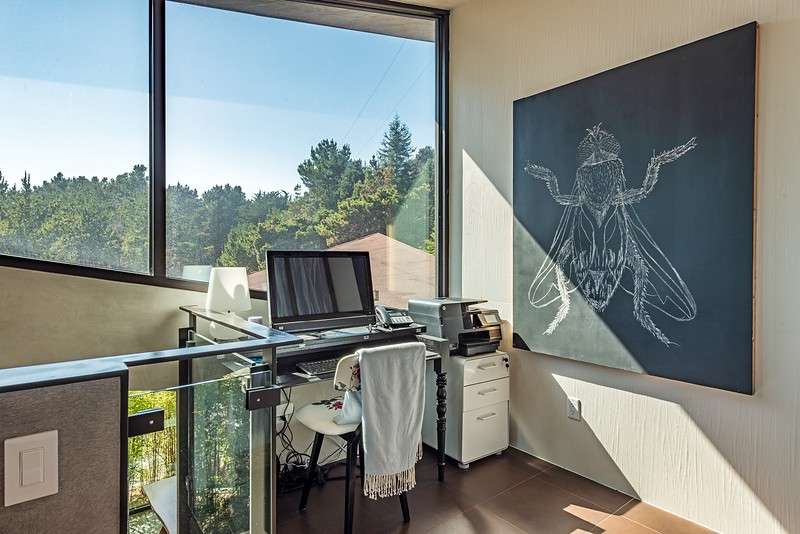 Office in Master Bedroom