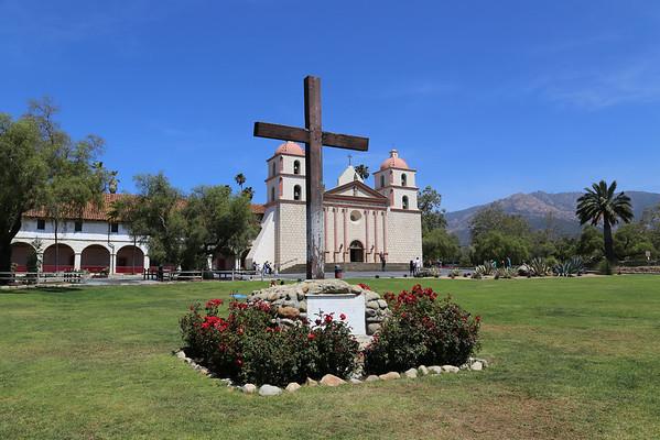 Santa Barbara Mission 2013