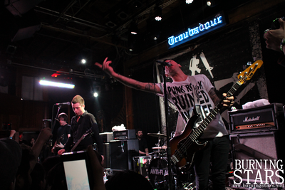 Anti-Flag @ Troubadour (Hollywood, CA); 3/19/13