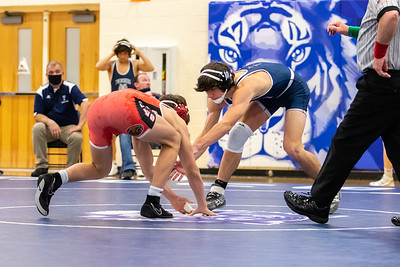 2021-01-22 -- Twinsburg High School Quad Match vs. Wadsworth, Independence, and Shelby
