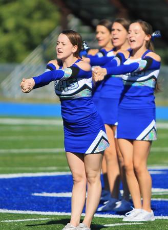 Cheerleaders Halftime Brookline Game 2013