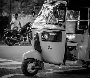 Coimbatore Scenes, March 2018 - B&W