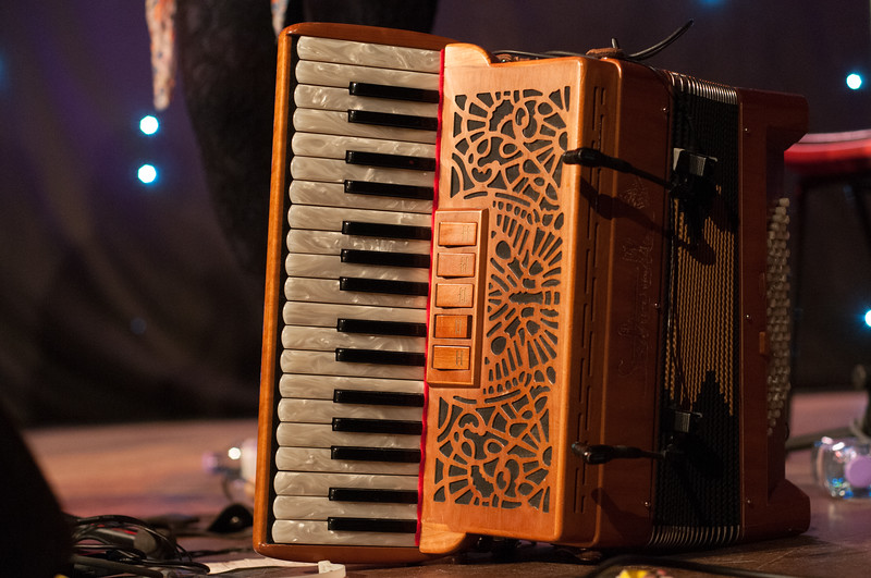 Mairearad's accordion