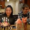2018-01-22 Elise 17th Birthday V(26) Cake Caleb