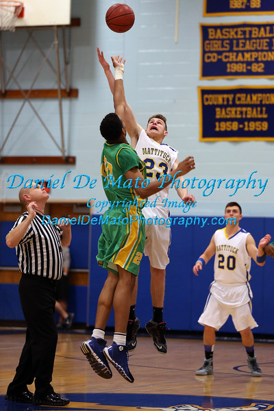 Mattituck vs Wyandanch Boys Basketball 12-20-14