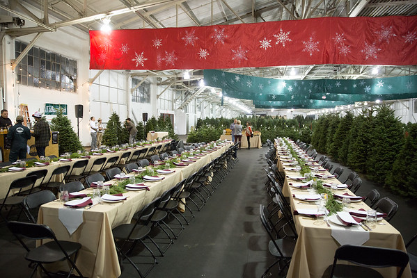2016.12.01 The Guardsmen Tree Lot Farm to Table Dinner