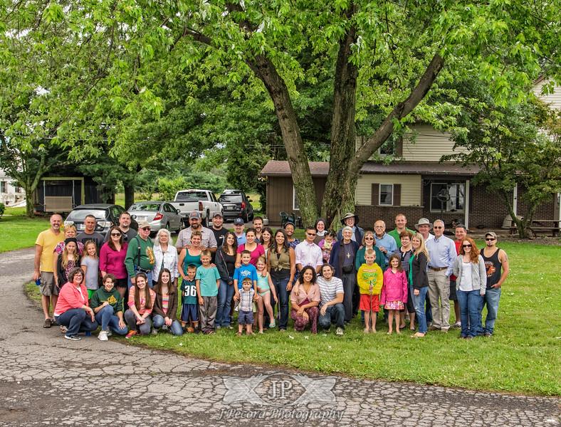 Family Reunion Group Portrait