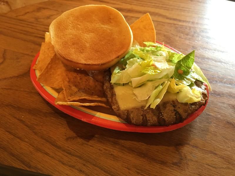 Southwest Burger Pecos Bill's Café - Magic Kingdom Walt Disney World