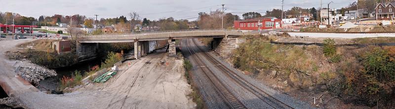 Crain Ave. bridge reroute