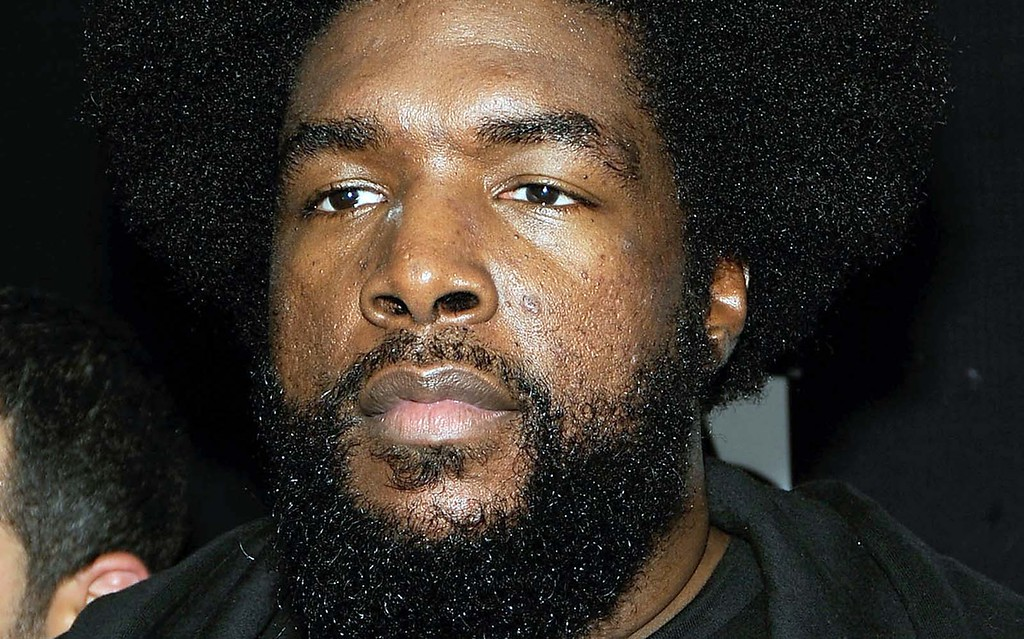 . Drummer ?uestlove of The Roots is 46. (Getty Images: Larry Busacca)