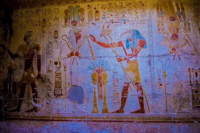 Temple of Seti I @ Abydos, Egypt