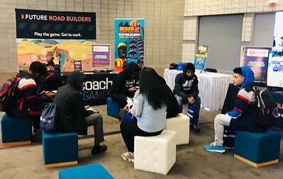 Future Road Builders Attends BuildOn Career Exploration Event