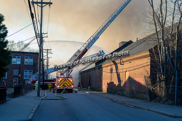 Pawtucket- Mill Fire, Rand Street- 03/14/2020