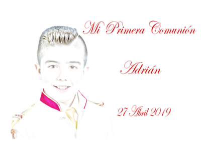 Comunión Adrian