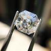 3.30ct Vintage Asscher Cit Diamond GIA J VS1 44