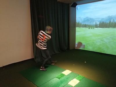 Golfsimulator Ungdom