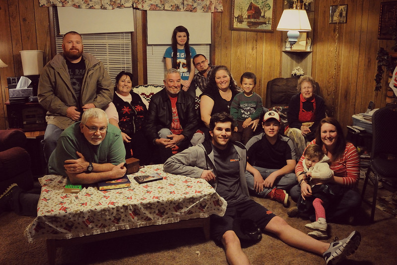 . . . all is bright . . .<br /> <br /> I hope you and your family had a blessed Christmas.  Ours was quiet compared to other Christmases.  We were missing three families who were off visiting loved ones around the country, but we enjoyed our time together . . . eating fried oysters, boiled shrimp, potato salad, and lasagna, and playing dominoes.  We were all tired at the end of the day and anxious to get home for a long winter's nap.