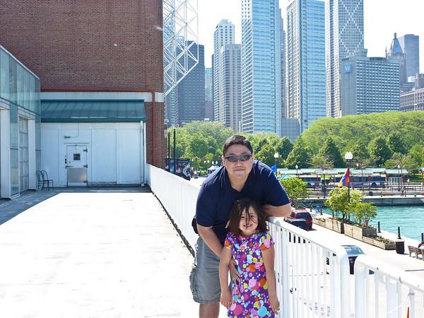 Jim & Zoe Travel to Chicago - June 2011