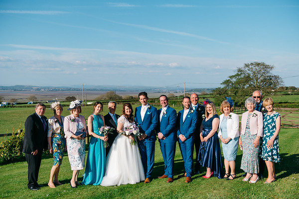 Official Wedding Phtographs with Family and Friends