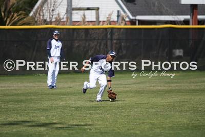 Sam Rayburn Varsity Baseball vs La Porte 3/17/2010