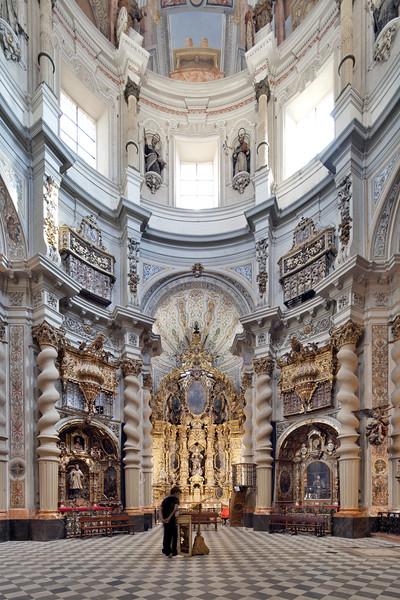 San Luis de los Franceses church (18th century), Seville, Spain