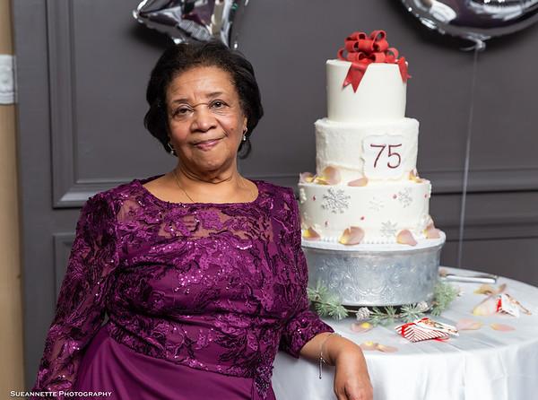 Maria's 75!