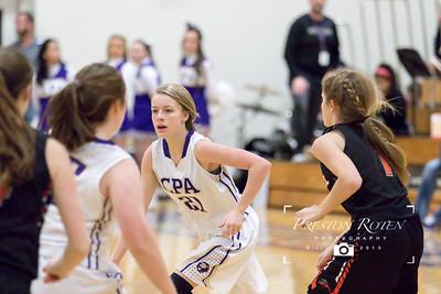 CPA Varsity Girls Basketball vs. Cascade