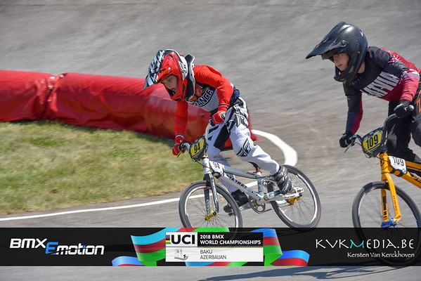 UCI BMX WC BAKU -  Challenge -12 year (part 2)