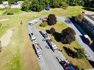 Drone Pictures, Pre-judging Apparatus, Montrose Parade