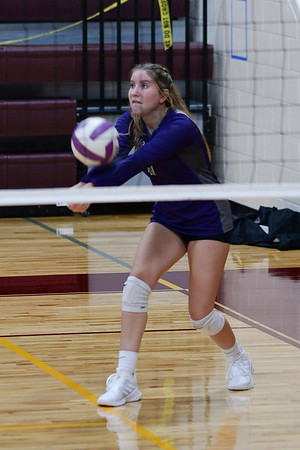 August 13, 2020 UL Varsity Volleyball vs Perry