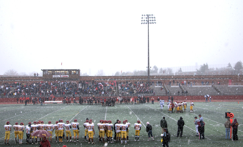 Central vs Northeast-yes, it's snowing.