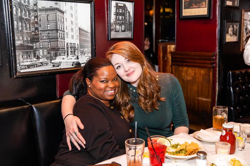 Sarah Fulton '09 and Daniella Jones '97
