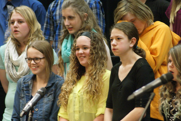BBE HS choir concert - 03/28
