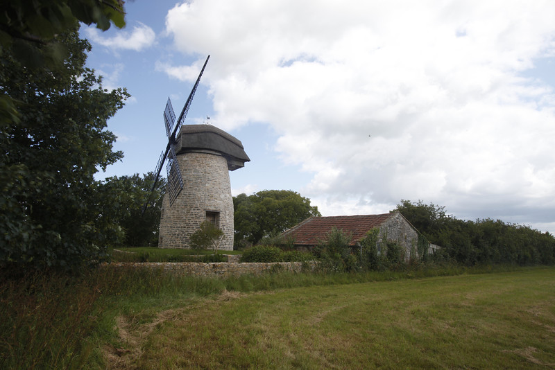 Windmill in Somerset