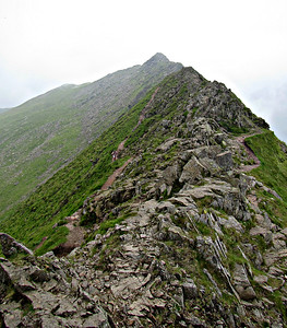 Lake District, with Helvellyn by Striding Edge (July 2-July 10)