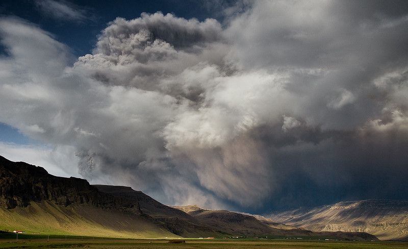 Eyjafjallajoekull Volcano
