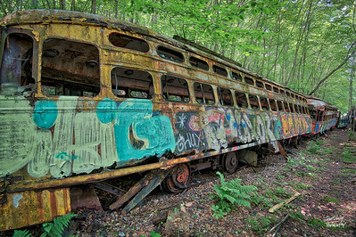 Trolley Graveyard