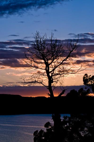 Sunrise on Navajo Lake