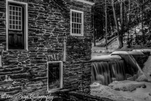 Blow Me Down Mill in Winter