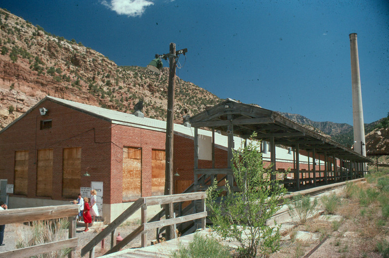 Geneva mine bathhouse. (Don Butler Photo)