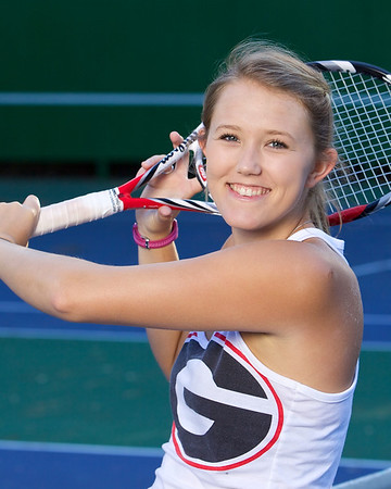 Hannah's UGA Tennis