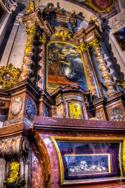 Boney Altar in St Vitus