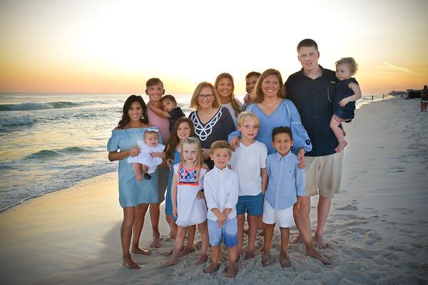 Fox Family Beach Mini-Session Fall 2017