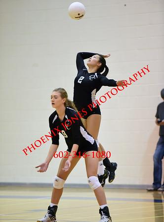 10-6-16 - Kofa at O'Connor High School Volleyball