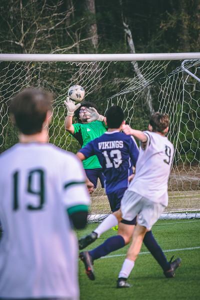 TWHS Soccer vs Vikings JV Cup 1/16