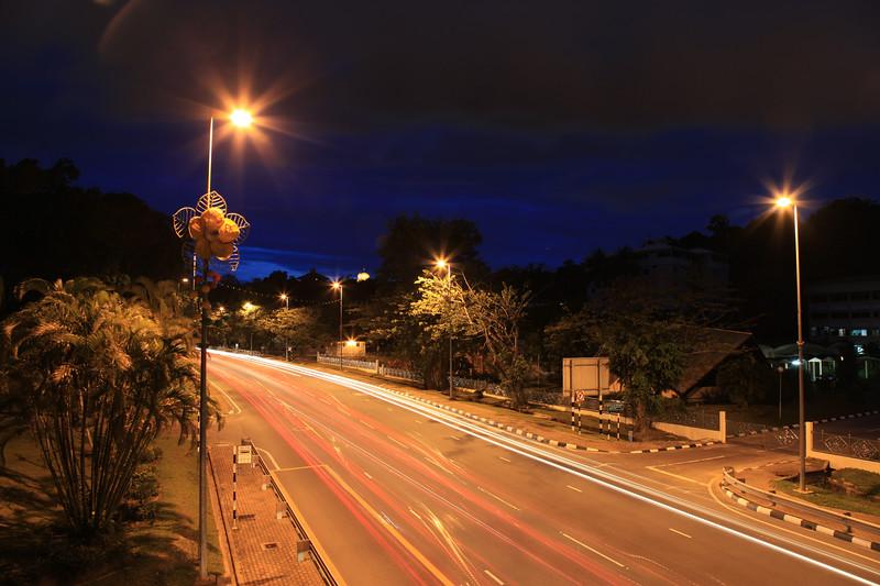 Ulica w Brunei